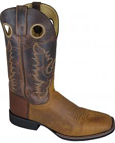 Smoky Mountain Men's Marshall Cowboy Boots - Square Toe