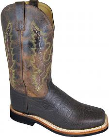 Smoky Mountain Men's Roger Cowboy Boots - Square Toe