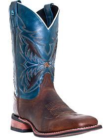 Laredo Razor Cowboy Boots - Square Toe