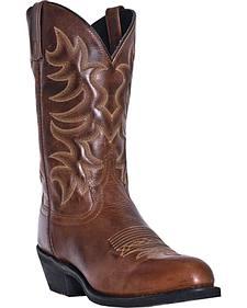 Laredo Pinehurst Cowboy Boots - Round Toe