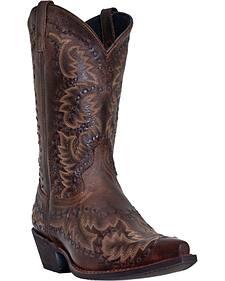 Laredo Midnight Rider Cowboy Boots - Snip Toe