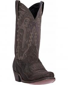 Laredo Douglas Shark Cowboy Boots - Square Toe