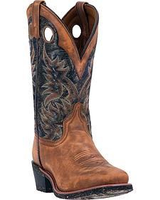 Laredo Stillwater Cowboy Boots - Square Toe
