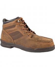 Roper Men's Moc Toe Horseshoe Boots