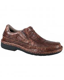 Roper Men's Performance Croc Print Slip-On Shoes