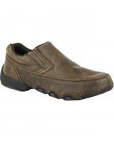 Roper Men's Country Cruisers Driving Moc Shoes