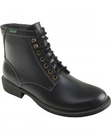 Eastland Men's Black Brent Plain Toe Boots