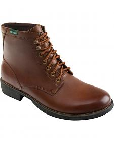 Eastland Men's Tan Brent Plain Toe Boots