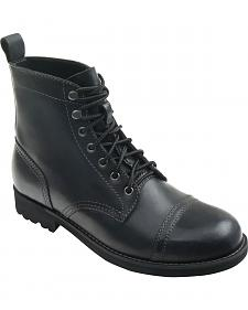 Eastland Men's Black Jayce Cap Toe Boots