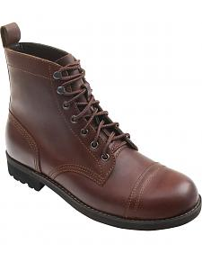 Eastland Men's Brown Jayce Cap Toe Boots