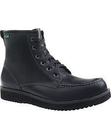 Eastland Men's Black Harrison Moc Toe Boots