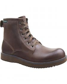 Eastland Men's Dark Tan Adrian Plain Toe Boots
