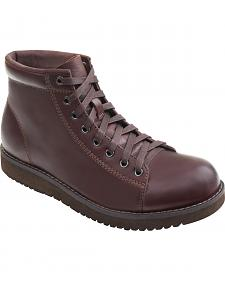 Eastland Men's Dark Walnut Aiden Lace Up Boots