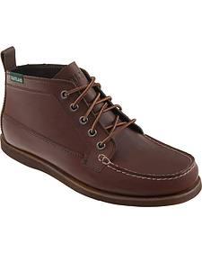 Eastland Men's Brown Seneca Camp Moc Chukka Boot