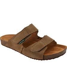 Eastland Men's Tan Caleb Slide Sandals