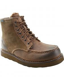 Eastland Men's Natural Lumber Up Shearling Lined Boots