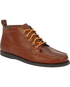Eastland Men's Tan Seneca Camp Moc Chukka Boot
