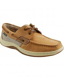 Eastland Men's Tan Solstice Boat Shoe Oxfords