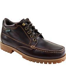 Eastland Men's Burgundy Brooklyn Ankle Boots