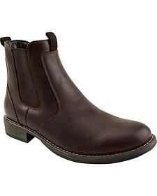 Eastland Men's Dark Brown Daily Double Jodhpur Boots