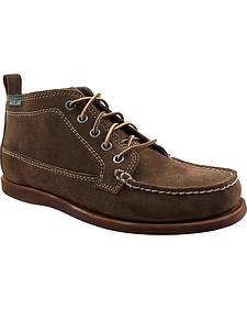 Eastland Men's Dark Olive Suede Seneca Camp Moc Chukka Boot