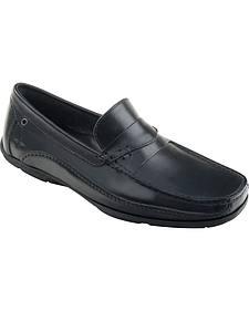 Eastland Men's Black Sebring Driving Moc Loafers