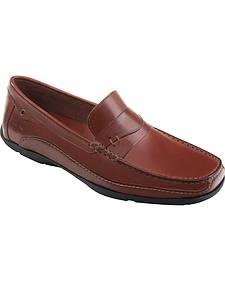 Eastland Men's Brown Sebring Driving Moc Loafers