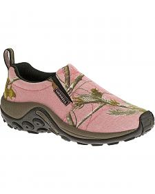 Merrell Pink Realtree® Camo Jungle Moc Hiking Shoes