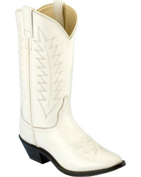 Old West Corona Cowgirl Boots - Medium Toe