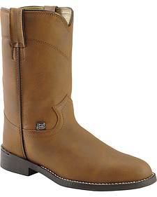Justin Basics Roper Boots