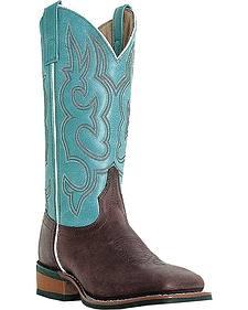 Laredo Mesquite Cowgirl Boots - Square Toe