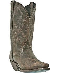 Laredo Maricopa Distressed Cowgirl Boots - Snip Toe