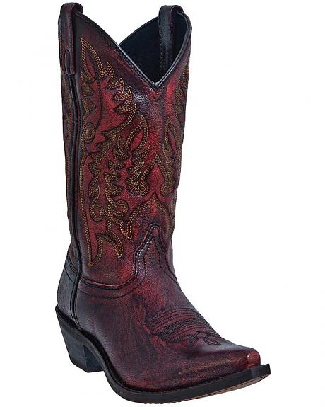 Laredo Tremaine Cowgirl Boots - Snip Toe