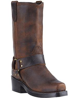 Dingo Molly Harness Boots - Snoot Toe