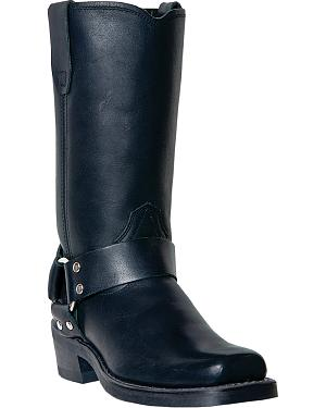 Dingo Womens Molly Harness Boots - Square Toe