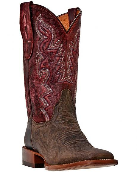 Dan Post San Saba Cowgirl Boots - Square Toe
