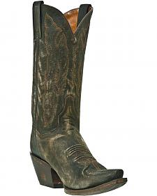 Dan Post Trinity Sanded Cowgirl Boots - Snip Toe