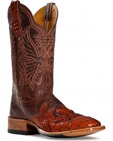 Cinch � Caiman Wingtip Cowgirl Boots - Square Toe