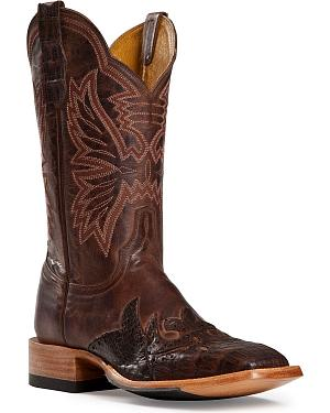 Cinch  Caiman Wingtip Cowgirl Boots - Square Toe