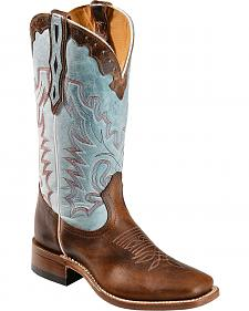 Boulet Damiana Cowgirl Boots - Square Toe
