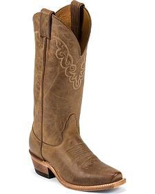 Nocona Cowgirl Boots - Square Toe