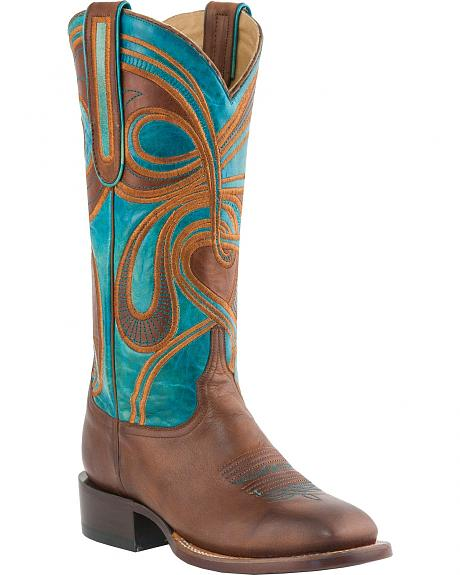 Lucchese Handcrafted 1883 Sonya Embroidered Cowgirl Boots