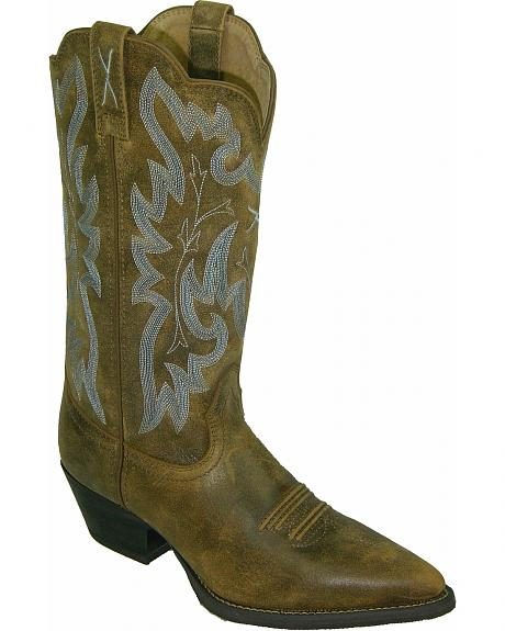 Twisted X Western Fancy Stitched Cowgirl Boots - Pointed Toe