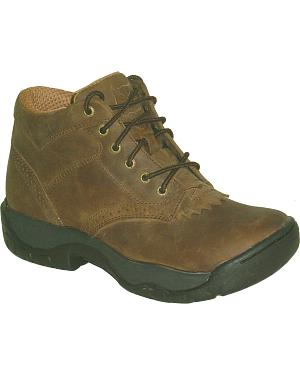 Twisted X All Around Lace-Up Work Boots - Round Toe