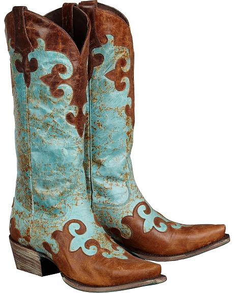 Lane Boots Dawson Cowgirl Boots - Snip Toe