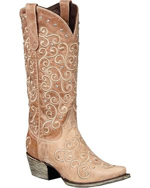 Lane Willow Cowgirl Boots - Snip Toe