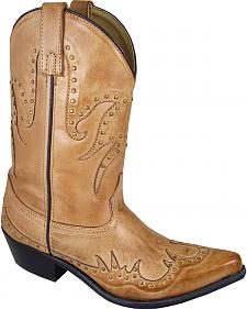 Smoky Mountain Willow Cowgirl Boots - Snip Toe