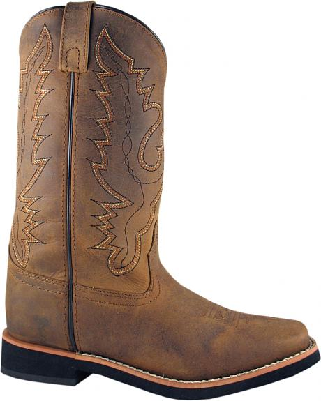 Smoky Mountain Pueblo Cowgirl Boots - Square Toe