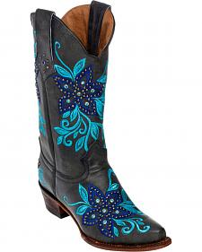 Ferrini Star Power Cowgirl Boots - Snip Toe