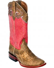 Ferrini Women's Sweetheart Cowgirl Boots - Square Toe